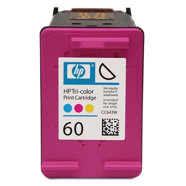 خرید عمده کارتریج پرینتر اچ پی رنگی HP60